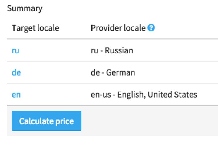 Header translation ordering