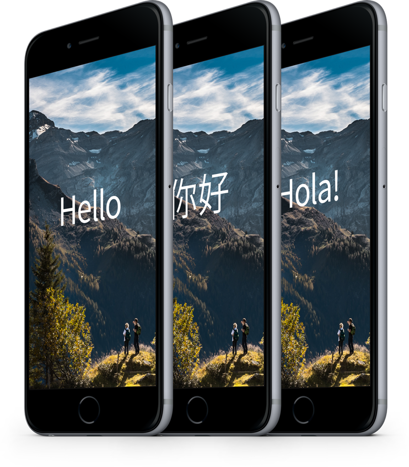 Iphone 6 plus languages